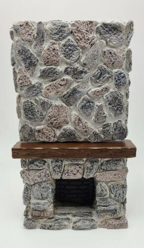 Dollhouse Miniature 1:12 Scale 2pc Ceiling Stone Fireplace