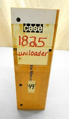 Case 1825 Uni-loader Skid Steer Shop Repair Service Manual 8-70070 1187