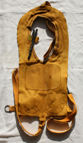 US B-4 MAE WEST LIFE PRESERVER. NORMANDY RECOVERY! EXCELLENT CONDITION!!!