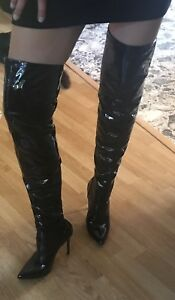 Second skin tall boots