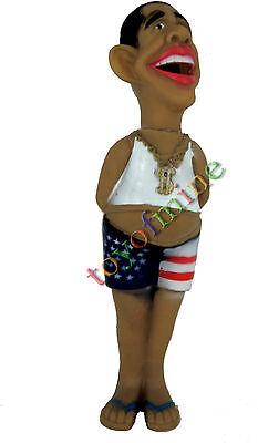 New Funny Doll Screech Shrilling Obama President Scary Scream Figurine Toy