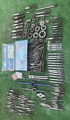 TAP AND DIE SETS OSG DORMER KINZO PRESTO JOB LOT TAP AND DIES (1900)