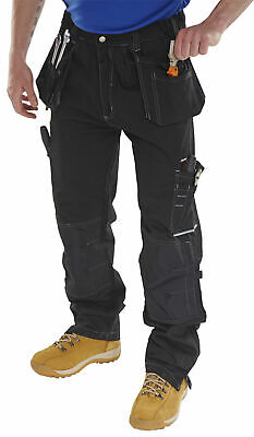Click Shawbury Multi Pocket Work Trousers With Kneepad & Holster Pockets - Smpt