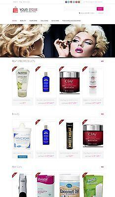 Beauty Store - Next Generation Amazon Affiliate Website Shopping Cart