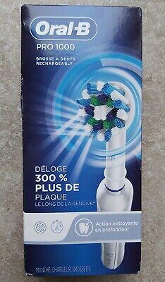 Cepillo de dientes eléctrico Oral-B Pro 1000 Crossaction con tecnología Braun