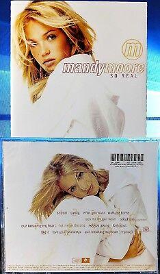 Mandy Moore   So Real  Cd  1999  Sony Music Distribution  Bmg   Usa