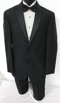 New with Tags Black Ralph Lauren Slim Fit 2 Button Satin Lapel Tuxedo Jacket 42R