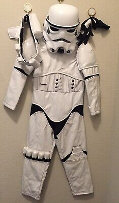 Kids Costume Storage (Disney Store Official Stormtrooper Size 5/6 Costume for Kids - Star)