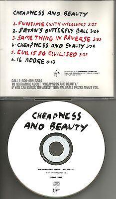 Culture Club Boy George Ultra Rare 6 Trk Sampler Promo Dj Cd Single 1995 Usa Min