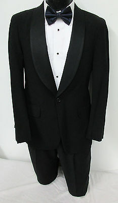 Boys Black Satin Shawl Lapel Tuxedo Jacket Retro Halloween Costume Bond Spy 007