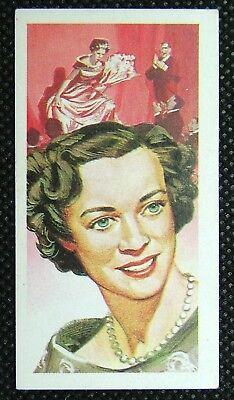 1 x Brooke Bond Tea Famous People Kathleen Ferrier Blue 1969 No 45