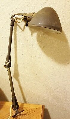 Antique Vintage BRYANT Lamp Light Extension Adjustable Steampunk