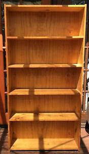 Large pine wood book case Mayfield East Newcastle Area Preview