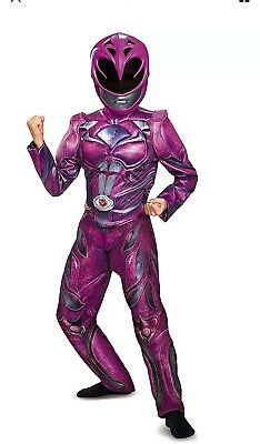 Power Ranger Girls Classic Ranger Power Muscle Size Medium 7-8