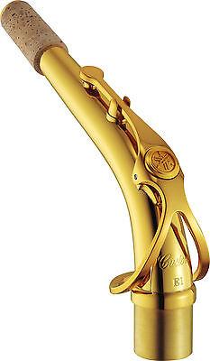 Yamaha Custom E1 Alto Saxophone Neck- Gold Lacquer