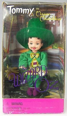 Kelly Doll Wizard of Oz TOMMY as Mayor Munchkin in Green Costume Outfit 1999 NIB (Munchkin Mayor Costume)