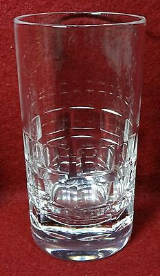 HADELAND of Norway crystal OSLO pattern Highball 10-Ounce Flat Tumbler - (Oslo Pattern)