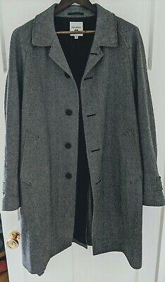 Uniqlo J.W.Anderson Tweed Coat Grey Medium TD002 WW 06