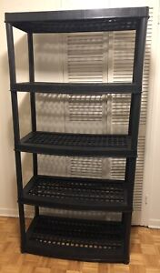 Resin Storage Shelf GREAT CONDITION! Trade for Full Body Mirror