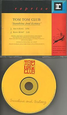 Talking Heads Tom Tom Club Sunshine And Ecstasy Roger S Remix   Edit Promo Cd