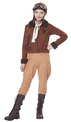 Amelia Earhart Pilot Aviator Historical Child Costume
