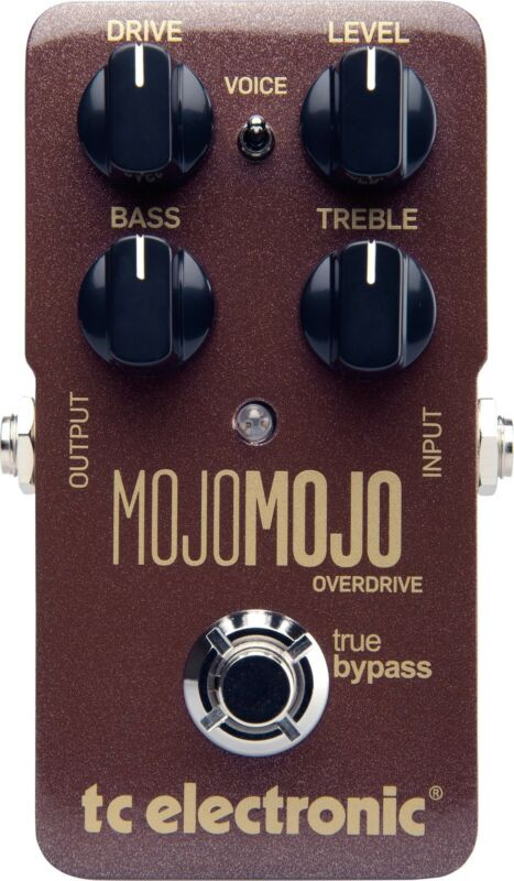 New TC Electronic MojoMojo Overdrive Guitar Effects Pedal Mojo