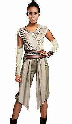 Rey Deluxe Costume Adult Star Wars Ep. 7  VII Force Awakens Ray - S M L - Fast -