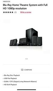 LG Blu-Ray Home Theatre System