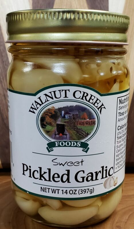 Pickled Garlic  (Sweet)