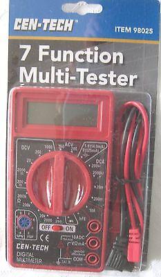 Multi Tester 7 Function Digital Multimeter Cen-tech