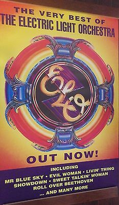 """40x60"""" HUGE SUBWAY POSTER~ELO Electric Light Orchestra 1994 The Very Best Of NOS"""