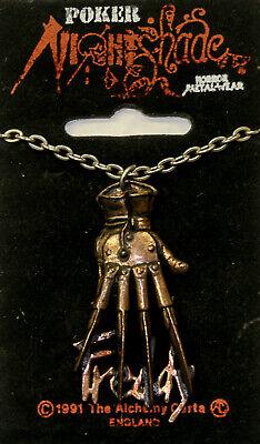 Poker Rox FREDDY KRUEGER Hand Nightmare on Elm Street Necklace  ()