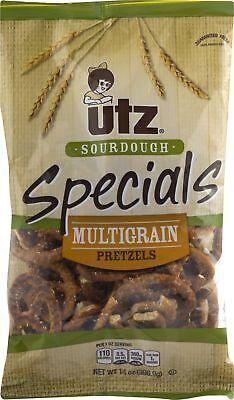 Utz Sourdough Specials Multigrain Pretzels 14 oz. Bag (3 Bags)
