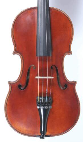 Nice Antique Italian Labelled Violin Giuseppe Ornati Milano 1950