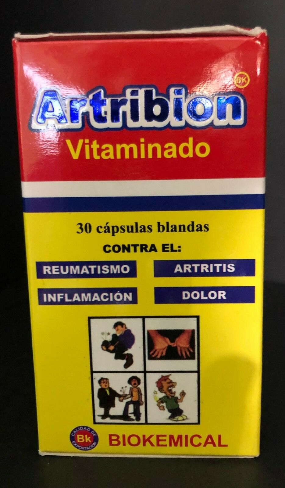 ARTRIBION vitaminado ortiga 30 softgel glucosamine curcumin joint pain arthritis