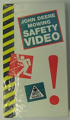 John Deere Mowing Safety Video VHS Tape Brand New Sealed