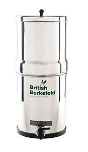 Doulton British Berkfield SS Gravity Water Filter System Heavy Metal Filters