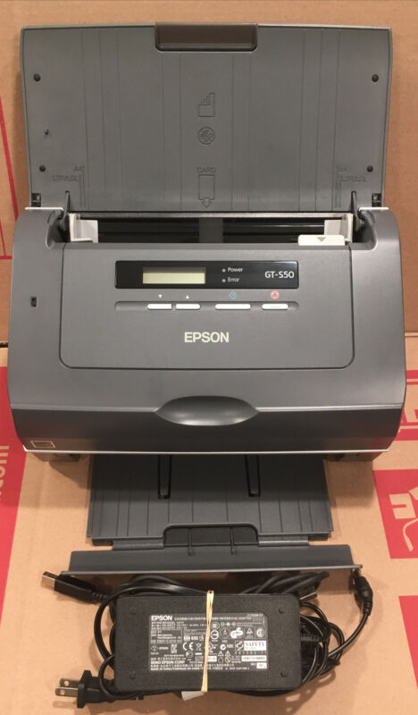 EPSON WorkForce Pro GT-S50 Document Sheetfed Pass-Through Office Duplex Scanner