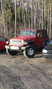 Jeep Wrangler 80000km