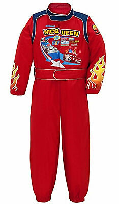 New retired Disney Store Cars Halloween racing jumpsuit Costume Size L