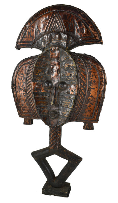 Kota Mahongwe Reliquary Figure Gabon African Art Collection
