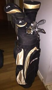 Full set golf clubs with bag and covers