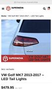 VW Golf MK7 LED Tail light Sequential Parkwood Canning Area Preview
