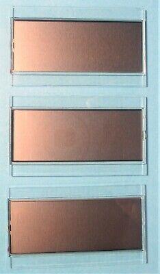 3 Fluke Digital Lcd Glass Display Panels For 29-ll 79-ll Series 2 Multimeters