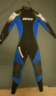 OCEANIC FEMALE SCUBA DIVING WETSUIT SIZE S