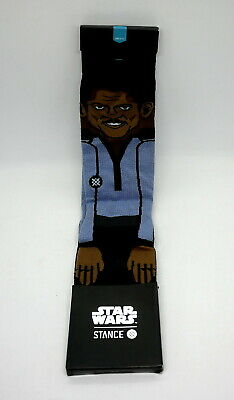 STANCE x STAR WARS LANDO CALRISSIAN CREW SOCKS (Size L) NEW in Retail Package!!