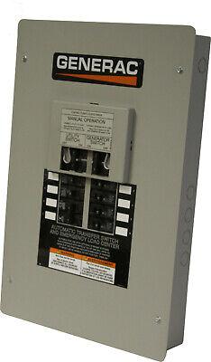 Generac Automatic Transfer Switch 0h6608 50a 120240vac 2p 1ph 3w Nema 1 New