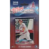 2018 Topps Baseball Anaheim Angels 17 card set Shohei Otani rc Mike Trout