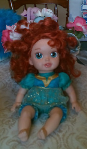 Disney Brave Merida 13 Inch Baby Toddler Doll