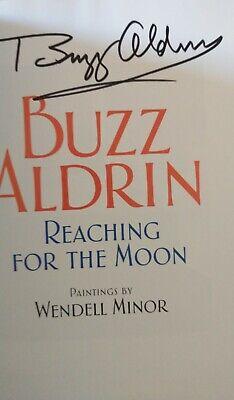 APOLLO 11 MOONWALKER - 2ND MAN ON THE MOON - BUZZ ALDRIN SIGNED HARDCOVER BOOK